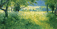 July Afternoon, 1897, rose