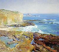 Laguna Rocks, Low Tide, 1916, rose