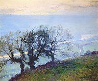 November Twilight, 1908, rose