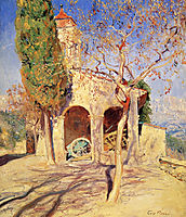 The Old Church at Cagnes, rose
