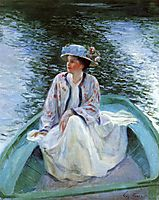 On the River-s Edge, 1910, rose