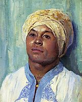 Portrait of an Algerian, 1900, rose