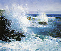 The Sea View of Cliffs, rose