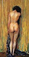 Standing Nude, rose