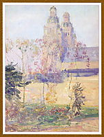 Study for -The Cathedral Tours-, rose