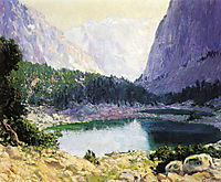 Twin Lakes, High Sierra, rose