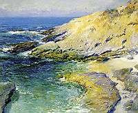View of Wood-s Cove, rose