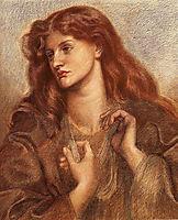 Alexa Wilding, 1866, rossetti
