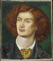 Algernon Charles Swinburne, 1861, rossetti