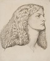 Annie Miller, 1877, rossetti