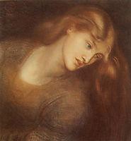 Aspecta Medusa, 1867, rossetti