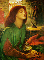 Beata Beatrix or Blessed Beatrice, 1864-1870, rossetti