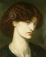 Beatrice, 1880, rossetti