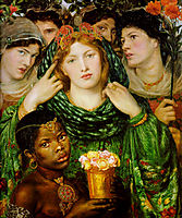 The Beloved, 1865-1866, rossetti