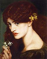 Blanzifiore (Snowdrops), 1880, rossetti
