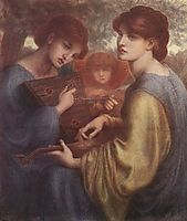 The Bower Meadow, 1872, rossetti