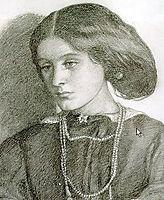 Mrs. Burne Jones, 1860, rossetti