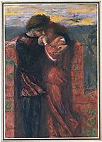 Carlisle Wall (The Lovers), 1853, rossetti