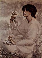 The Daydream, 1878, rossetti
