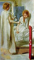 Ecce Ancilla Domini, The Annunciation, 1849-1850, rossetti