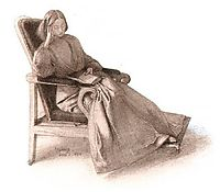 Elizabeth Siddal, 1854, rossetti