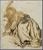 Elizabeth Siddal, 1852-1855, rossetti