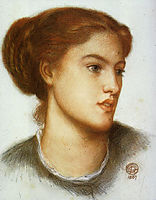 Ellen Smith, 1867, rossetti