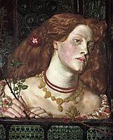 Fair Rosamund, 1861, rossetti
