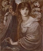 The Garland, 1873, rossetti