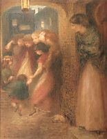The Gate of Memory, rossetti