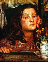 Girl at a Lattice, 1862, rossetti