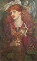 The Holy Grail, rossetti