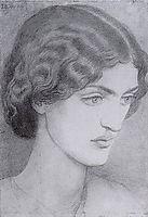 Jane Burden, rossetti