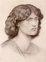 Jane Morris, 1870, rossetti