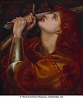 Joan of Arc, 1882, rossetti