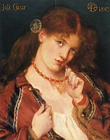 Joli Coeur (French for), 1867, rossetti