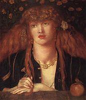 La Bionda del Balcone, 1868, rossetti