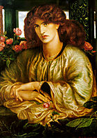 La Donna della Finestra, The Lady of the Window, 1879, rossetti