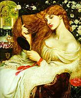 Lady Lilith, 1868, rossetti