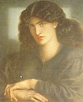 The Lady of Pity, 1879, rossetti
