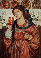 The loving cup, rossetti