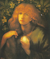 Mary Magdalen, 1877, rossetti