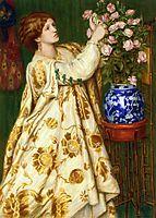 Monna Rosa, 1867, rossetti