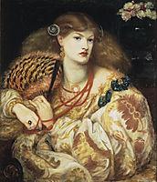 Monna Vanna, 1866, rossetti