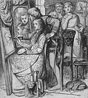 A Parable of Love or Love-s Mirror, 1849-1850, rossetti