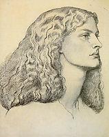 Portrait of Anne Miller, rossetti