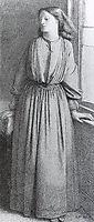 Portrait of Elizabeth Siddal, 1850-1865, rossetti