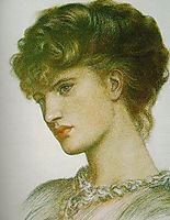 Portrait of a Lady, rossetti