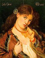 Pretty Heart, 1867, rossetti