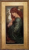 Proserpine, 1881-1882, rossetti